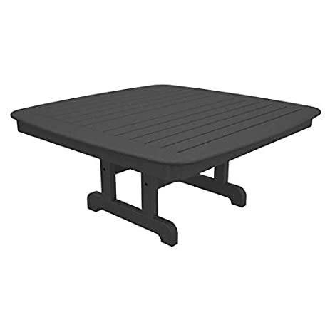 Nautical Square Conversation Coffee Table Table Top Size: 44u0026quot;, Finish:  Slate Grey Great Ideas