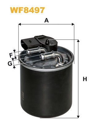 WIX FILTERS WF8497 Fuel Injectors:
