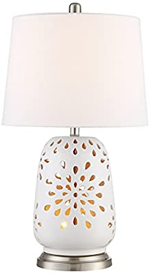 Carina Ceramic Nightlight Table Lamp