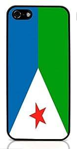 flag of Djibouti for Apple iPhone 5/5S ( Sugar Skull )