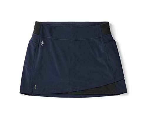 (SmartWool Women's Merino Sport Lined Skirt Deep Navy X-Small)