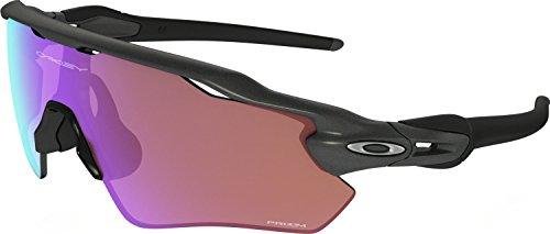 Oakley Youth Boys OJ9001 Radar EV XS Path Shield Sunglasses, Steel/Prizm Golf, 31 mm (Oakley Sunglasses Kids Polarized)