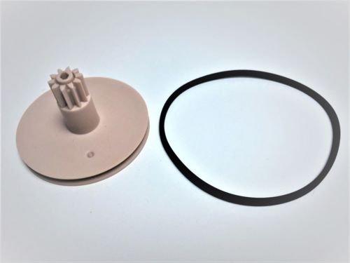 FidgetFidget CD Player Drawer Wheel Tray Loading Gear & Belt CDM-9 CDM9 For Marantz Philips by FidgetFidget