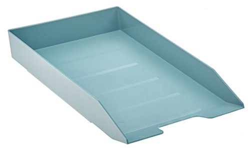 Acrimet Stackable Letter Tray (Solid Green Color) (1 Unit)