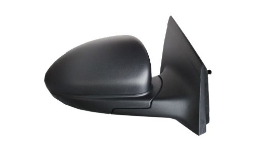Chevy Black Replacement Mirror (Chevy Cruze Replacement Passenger Side Manual Side Mirror Black)