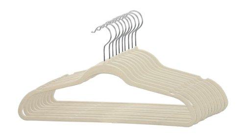 SUNBEAM Velvet Slim Hangers 120 pack IVORY FH01697