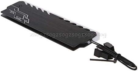 Heatsink Radiator Aluminum RAM Heatsink Cooler RGB 265 Light Radiator Desktop Memory Cooling Vest Heatsink Radiator F18 19 V2AMZ