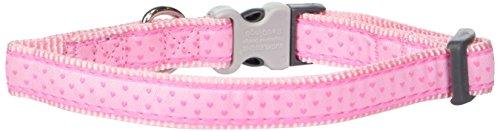 Red Dingo Love Sprinkles Dog Collar, 15mm, Pink