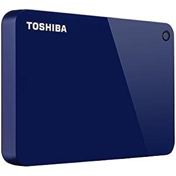 ec809dc59c568 Toshiba Canvio Advance 2TB Portable External Hard Drive USB 3.0, Blue  (HDTC920XL3AA)