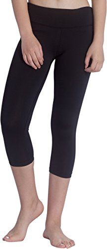 KomPrexx Pantalón Deportivo de Mujer Leggings Negro para Yoga Running Ejercicio Negro 2