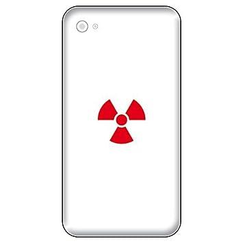 8 Piezas 2,5cm Radioactivo Radiación Símbolo Signos Móvil Pegatina ...