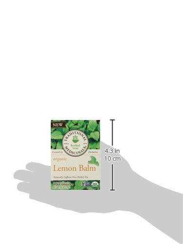 Traditional Medicinals Organic Lemon Balm Tea, 16 Tea Bags (Pack of1) by Traditional Medicinals (Image #8)