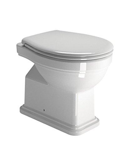 GSI Classic 54 WC vaso a pavimento cod. 871011 con sedile: Amazon.it ...