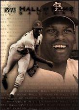 - 2001 Upper Deck Hall of Famers HOF Gallery BOB Gibson #G3 St.louis Cardinals Legend Insert Baseball Card