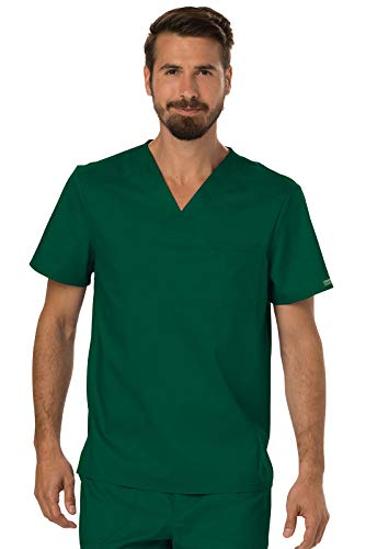Cherokee Workwear Revolution Men's V-Neck Scrub Top