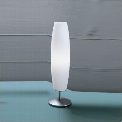 Zaneen Lighting D8-4031 Zenith Table Lamp, Nickel
