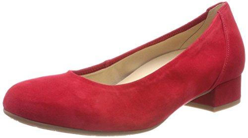 Gabor Comfort Basic, Scarpe con Tacco Donna Rosso (Rubin A.obl)