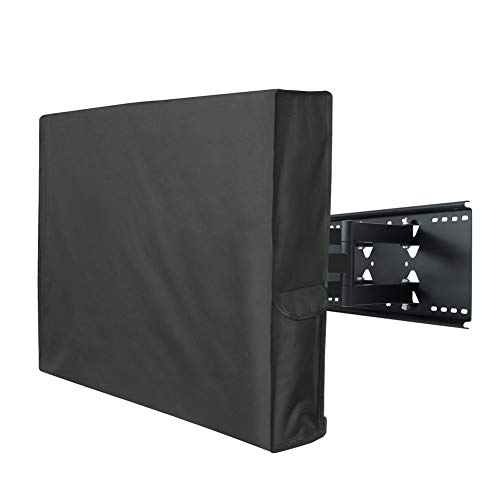 Porch Shield 44-47 inches Outdoor TV Cover Universal Weatherproof Protector for LCD, LED, Plasma Flat TV Screen, Compatible with Wall Mounts and Stands (Best 46 Inch Flat Screen Tv)