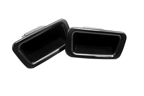 Vesul Front Row Door Side Storage Box Handle Armrest Phone Container Compatible with Ford Explorer 2011 2012 2013 2014 2015