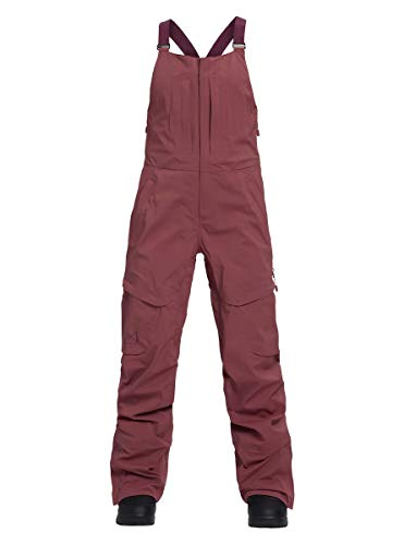 Burton Women's AK Gore-Tex 3L Kimmy Bib Pant, Rose Brown, Small