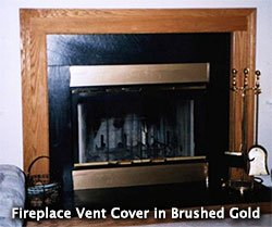 Amazon.com: Magnetic Fireplace Vent Cover - Black (36\