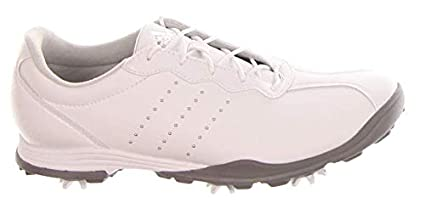 new style a840c 8b24a Image Unavailable. Image not available for. Color adidas New Womens Golf  Shoe Adipure DC Medium 8.5 White