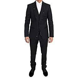 Wool Crystal Slim Fit 3 Piece Suit