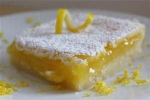 Gluten Free Luscious Lemon Squares Mix - Regular Size