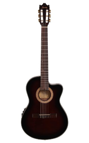 Ibanez GA35TCEDVS AcousticElectric Guitar