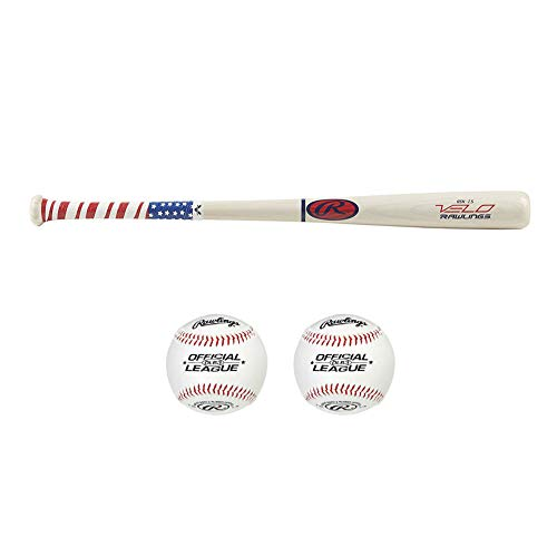 Rawlings Velo Ash Wood Youth Baseball Bat (27