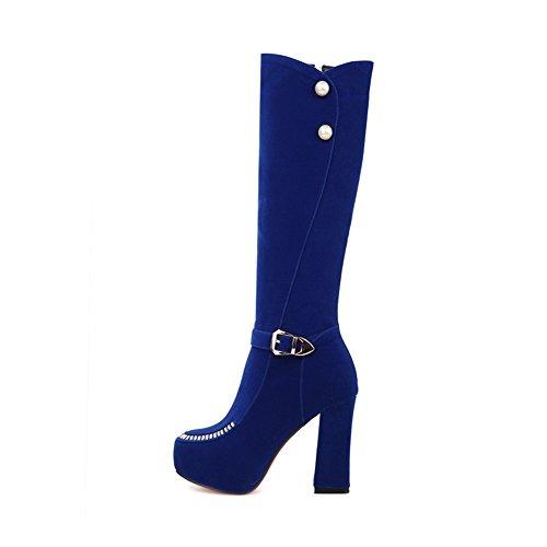 1TO9 1TO9Mns02035 - Zapatilla Alta Mujer Azul