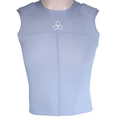 McDavid Hexpad Sleeveless Body Shirt with Hexpad Shoulders, Small (Mcdavid Hexpad Body Shirt)