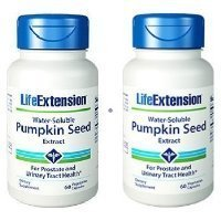 Life Extension Water-Soluble Pumpkin Seed Extract 60 Vegetarian Capsules (Pack of 2) Thank you for using our service GIP Super Market