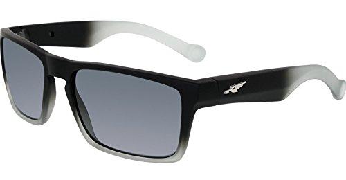 Arnette Specialist AN4204-05 Polarized Rectangular Sunglasses, Black, 58 - Arnette Polarized