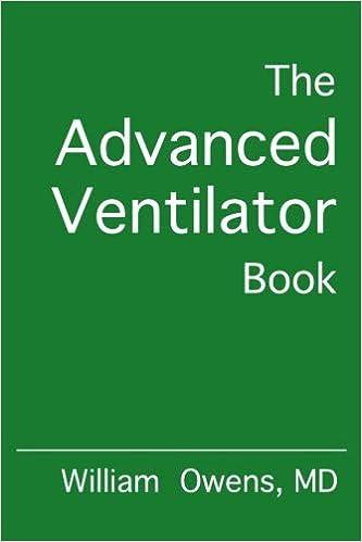 The Advanced Ventilator Book por William Owens Md epub