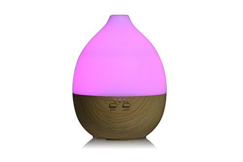 Aromatherapy diffuser and humidifier. Cool Mist Humidifier Ultrasonic Aroma Essential Oil Diffuser for home, spa, living room, bedroom. Adjustable Mist Modes, Waterless Auto Shut-off, Color LED Lights by Misstatu Home (Image #5)