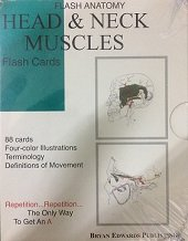 Head & Neck Muscles (Flash Cards)