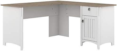 Bush Furniture Salinas L Shaped Desk - a good cheap modern office desk