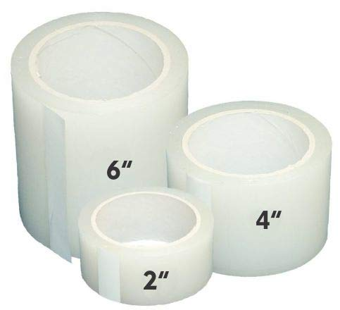 Greenhouse Plastic Poly Permanent Repair Tape UV Clear – Extra Strong (6 in. x 108 ft.)