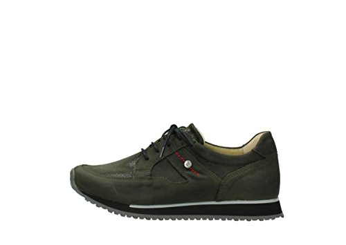 Forest Stretch 05800 walk Leather nbsp;e Wolky 20730 Formadores Green Confort Hwq6HYZU