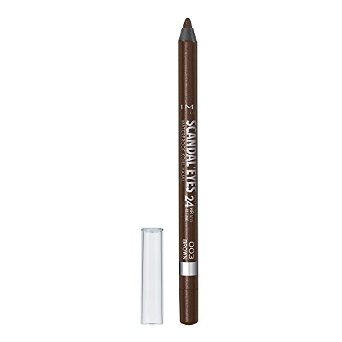 Rimmel Scandaleyes Waterproof Kohl Kajal Liner, Brown, 0.04 Fluid Ounce