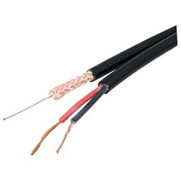 Bobina de cable coaxial para RG59 BNC y de alimentación para ...