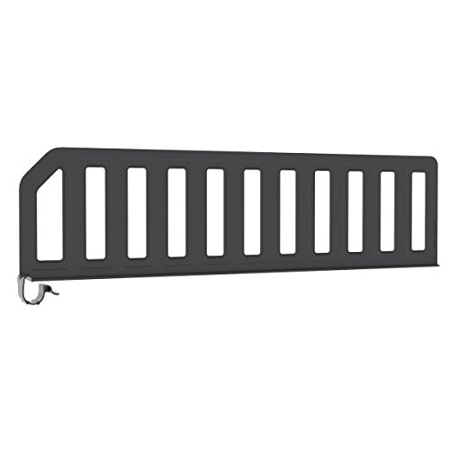 Akro-Mils 45624 Plastic Shelf Divider for 24-Inch Deep Wire and Steel Shelving, 6-Pack
