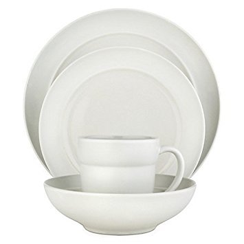 Dansk Tera White 4-Piece Place Setting, Service for 1