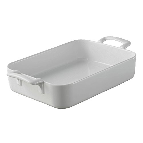 REVOL Belle Cuisine Rectangular Roasting Dish, White