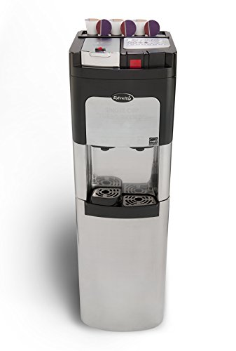 Coffee Maker & Water Cooler K Cup Compatible : Bargain Estratto, Coffee Maker Single Cup & Commercial Water Cooler, Self Cleaning, Bottom ...