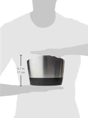 Large Product Image of OXO Good Grips Brushed Stainless Steel Utensil Holder