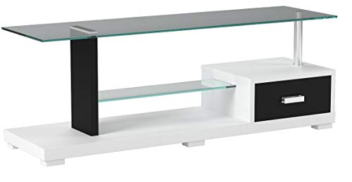 247SHOPATHOME IDF-5814-TV TV Stand, Black
