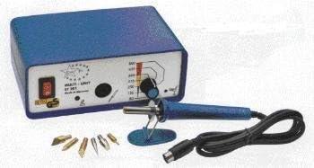 Kit Pirograbador de Madera,Temperatura Regulable 32 Puntas y Accesorios 60W Soldador Pirografo Electrico Profesional Herramientas Para Manualidades Madera,Cuero,Grabado