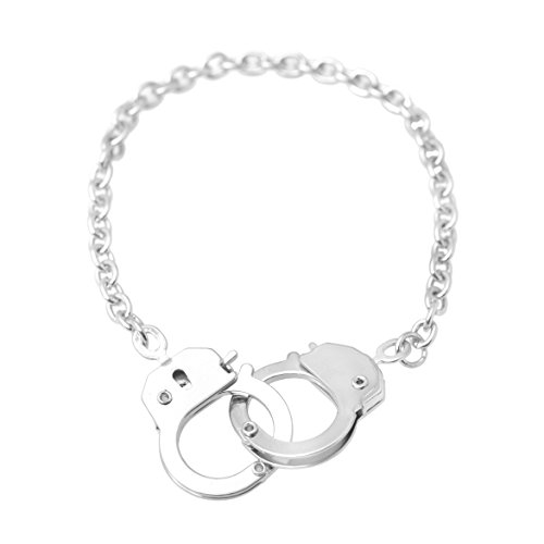 Spinningdaisy Silver Plated Handcuff Bracelet